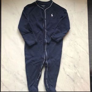 Navy blue 6M Ralph Lauren Boys Pajamas